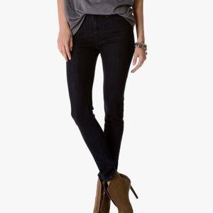 JOIE High Rise Skinny Jean In Black Size 28